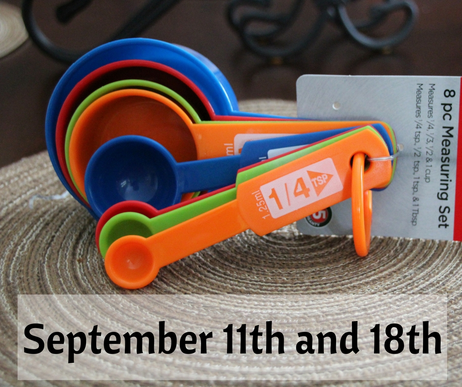 September 11th and 18th