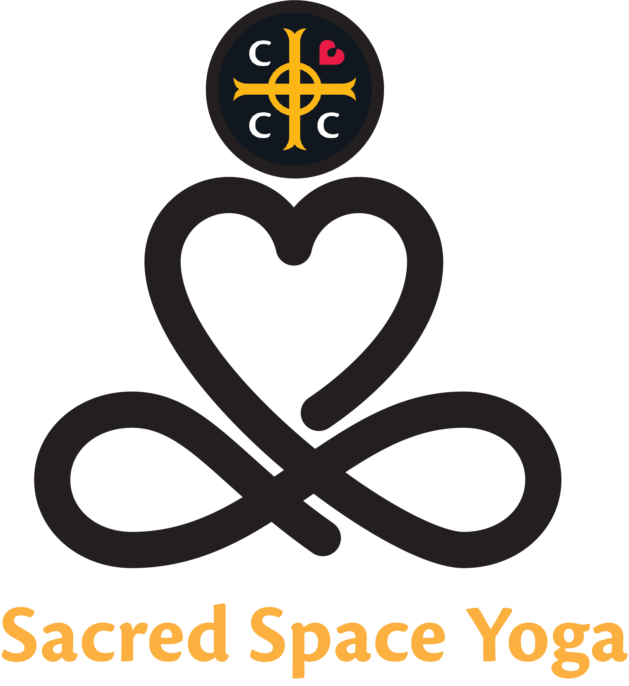 Sacred Space Yoga Logo Christ Church Cathedral