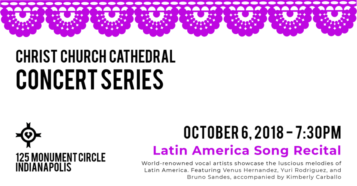 Latin American Song Recital